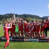Alberschwender Damen holen Krone in der Vorarlbergliga