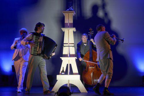 """Nach der Österreich-Premiere von """"Paris! Paris!"""" des Ensembles Die Schurken im Rahmen der Bregenzer Festspiele finden Schulaufführungen statt. BF/A. Köhler"""