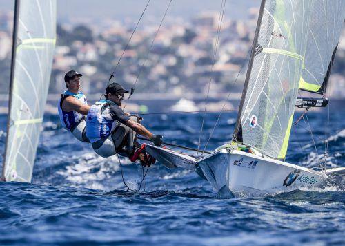 Nach Gold 2016 setzte das 49er-Duo Benjamin Bildstein und Vorschoter David Hussl mit Silber beim Weltcupfinale vor Marseille ein kräftiges Ausrufezeichen.OESV