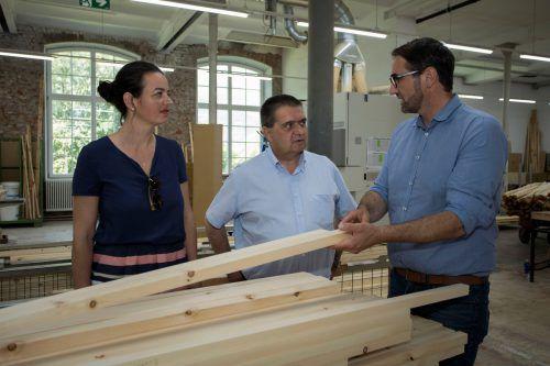 Nachhaltigkeit spielt eine große Rolle in der Produktion der Möbel.