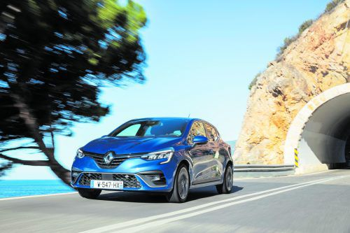 Neue Designdetails lassen den Clio dynamischer auftreten.Werk