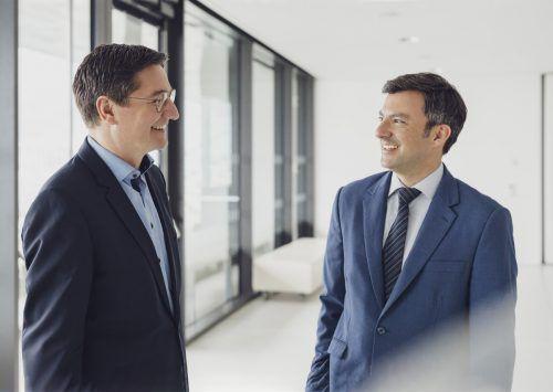 NR Reinhold Einwallner und Landesvorsitzender Martin Staudinger. SPÖ