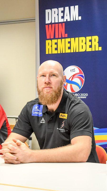 ÖHB-Teamchef Ales Pajovic blickt optimistisch seiner ersten EM-Endrunde als Trainer entgegen. GEPA