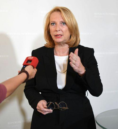 ÖVP kritisiert Doris Bures (SPÖ) nach ihrer Kritik an der ÖVP.apa