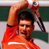 Djokovic verzichtet auf Rasentests