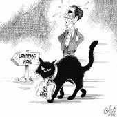 "<p class=""caption"">Oje, schwarze Katze von links nach rechts!</p>"