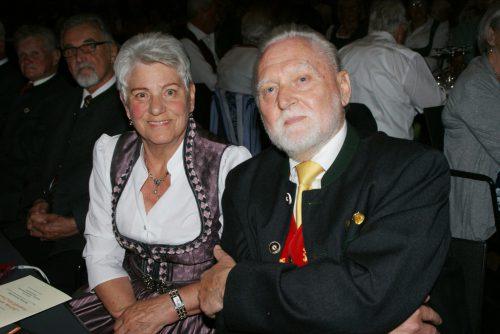 Organisator Anton Mesotitsch mit Gattin Annemarie.