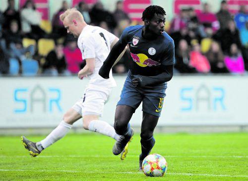 Ousmane Diakite möchte in Altach die ersten Bundesliga-Schritte tun. gepa