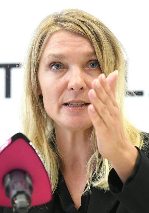 """Parteichefin Stern kritisiert, dass """"Jetzt"""" über die Medien eine Absage erhielt. APA"""