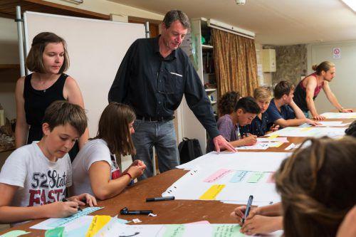 PH-Studierende luden zu Schreibworkshops.