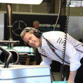 Als Aerodynamiker im Mercedes-Team