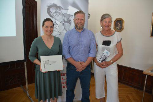 """Präsentation des Projekts """"IKONS"""" in Bregenz, die Pilotphase startet im September mit zwölf Menschen unterschiedlichen Alters mit Down-Syndrom. afp"""