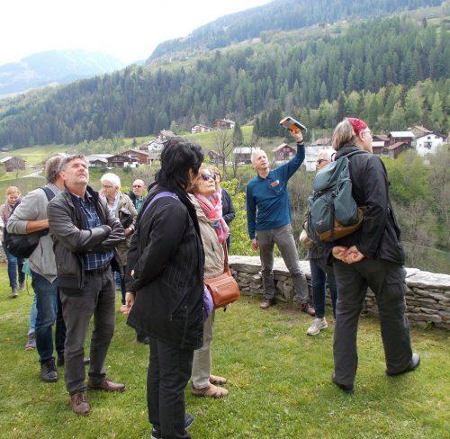 Prof. Rudi Hirnböck leitete die Reise nach Graubünden.