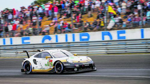 Rang zehn reichte Kevin Estre und Co. in Le Mans für den Titelgewinn in der Klasse GTE Pro.porsche