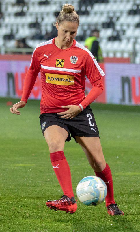 Sabrina Horvat wird gegen die Slowakei wieder im ÖFB-Kader sein.HEPBERGER