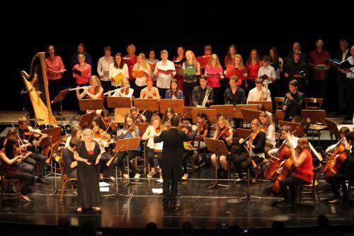 Schlusskonzert der Musikschule Bregenz im Theater am Kornmarkt.