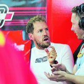 Vettel und Ferrari treten auf der Stelle