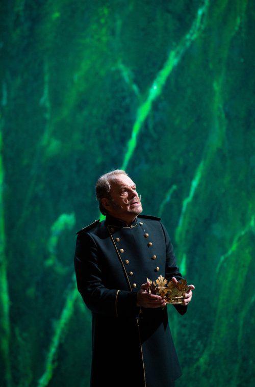 Sehr bewegend: Michael Volle in der Titelrolle. Oper/Rittershaus