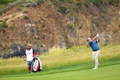 Sepp Straka spielte bei den US Open zum Auftakt eine 68er-Runde.ap