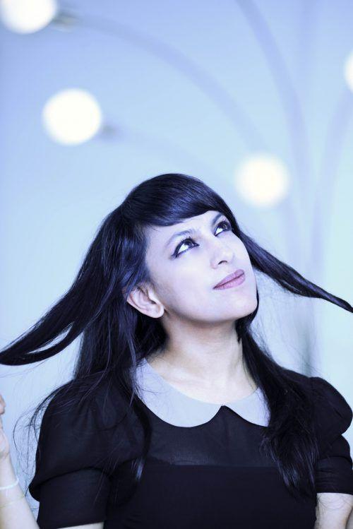 Shani Diluka unterstützt heute die Geiger Le Magadure und Merlin beim Kammerkonzert. Eric Dahan