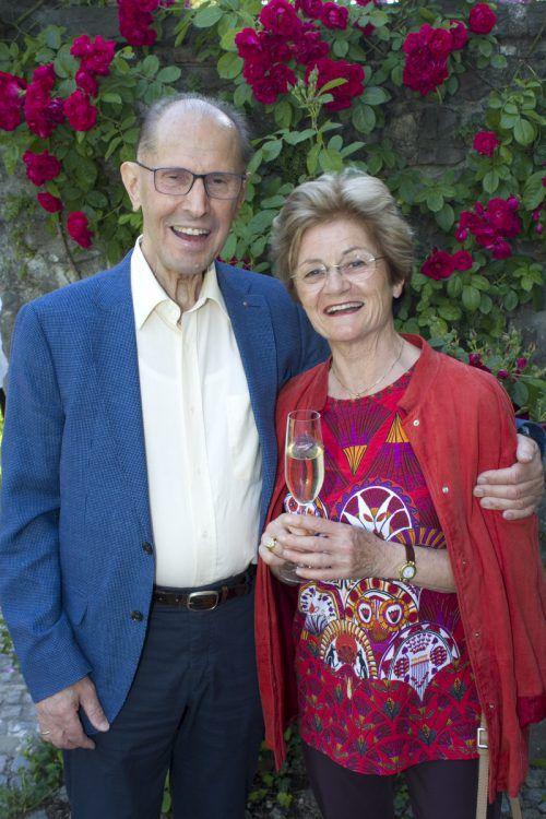 Sichtlich Spaß hatten Monika und Siegfried Höfle.