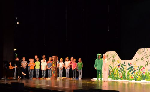 Sieben Schulklassen aus Dornbirn und Lustenau zeigten ein abwechslungsreiches Programm von Klassik bis Musical. STADT DORNBIRN