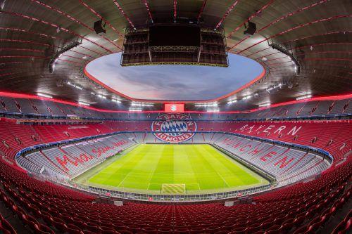 Sorgt für Prestige: Zumtobel liefert eine Komplett-Lichtlösung für die Allianz Arena in München. Ducke