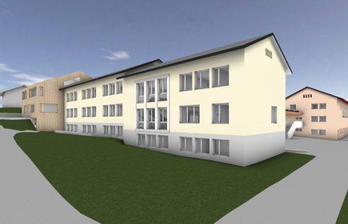 Sowohl die Volksschule als auch der Kindergarten von Tschagguns werden im kommenden Jahr saniert werden. Lang/vonier