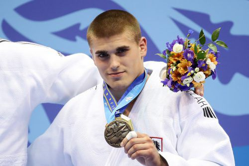 Stephan Hegyi gewann für Österreich die zweite Medaille bei den Europaspielen. gepa