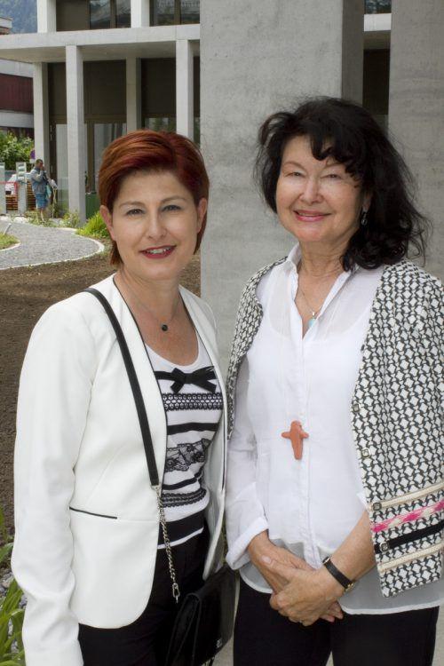 Susanne Schindler (l.) und Elisabeth Paterno.
