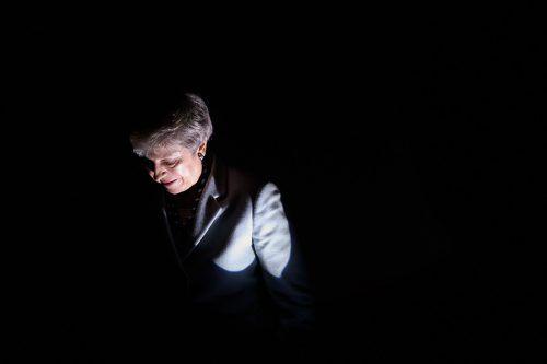 Theresa May ist bald weg, sowohl als Parteichefin als auch als Regierungschefin.Um ihre Ämter wird jetzt hart gekämpft. afp
