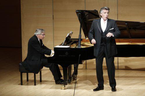 Thomas Hampson bot ein Mahler-Programm. Schubertiade