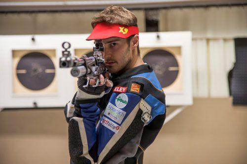 Thomas Mathis wurde VSB-Open-Sieger im Dreistellungskampf. Paulitsch