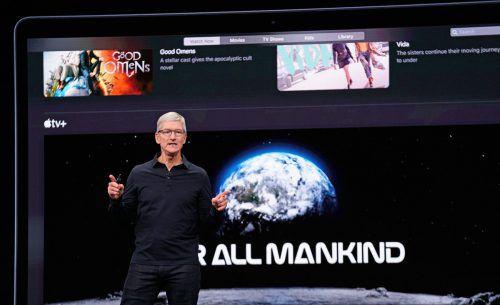 Tim Cook präsentierte bei der Entwicklerkonferenz Apple-Neuheiten. Reuters