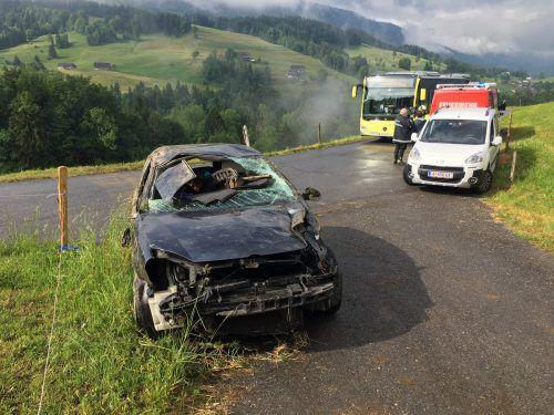 Über Pfingsten kam es in Vorarlberg zu 27 Verkehrsunfällen. VOL.AT/VLACH