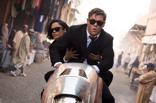 Unspektakulär, aber humorvoll: Tessa Thompson undChris Hemsworth. Sonypictures