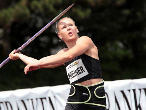 Verena Preiner sorgte mit einem neuen Rekord in Ratingen für eine Wachablöse im österreichischen Siebenkampf. Die 24-Jährige erzielte sechs persönliche Bestleistungen.gepa