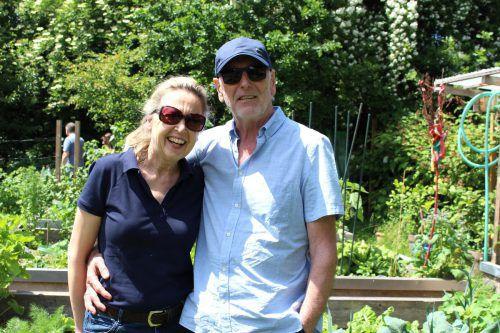 Vicky und Walter schauten sich im Lust.Garten um.