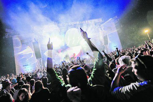 Vom 1. bis 3. August 2019 wird Lustenau zum Festival-Hotspot. matthias rhomberg