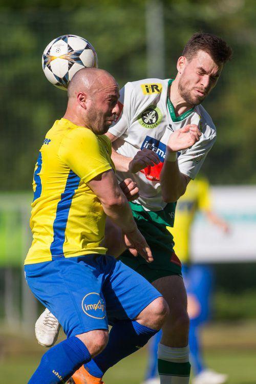 Vorarlbergligameister FC Wolfurt und der FC Lauterach sind in der neugegründeten Eliteliga Vorarlberg gefordert. steurer