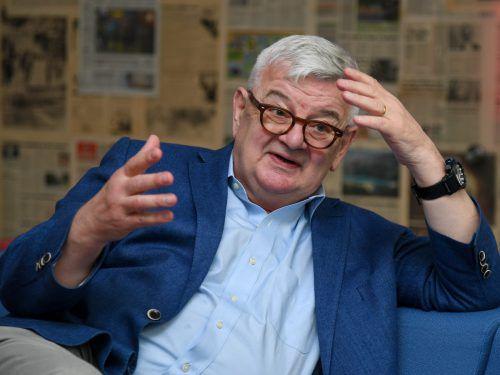 Der bekannte Unternehmensberater wird die Zukunft Europas unter die Lupe nehmen.VN/Lerch