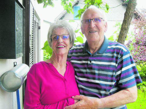 """""""Wertschätzung und Liebe sind wichtige Zutaten für eine glückliche Ehe"""", bestätigen Marlene und Ferdl Rusch. K. Lässer"""