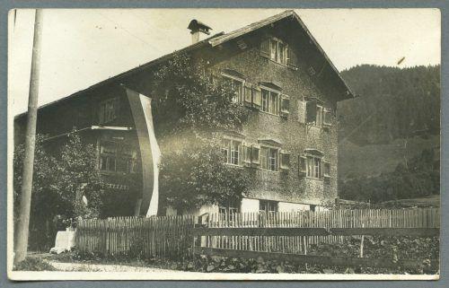 Willams Elternhaus in Schoppernau ist noch erhalten.