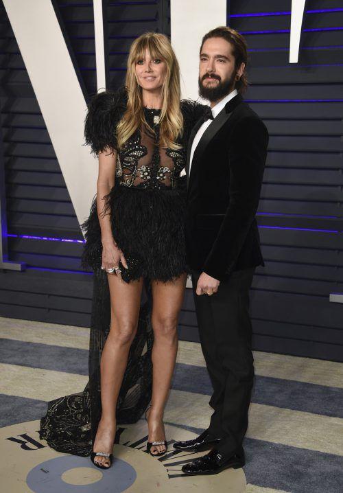 16 Jahre Altersunterschied trennen Heidi Klum und Tom Kaulitz.ap