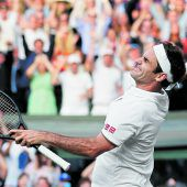 Alles Roger in Wimbledon