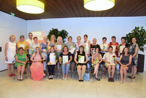 17 neue Heimhelferinnen wurden ausgebildet. Gemeinde
