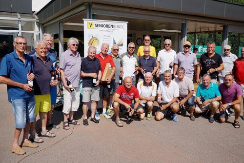 19. Landestennismeisterschaften mit hervorragenden Leistungen beim ESV Feldkirch.Vorarlberger Seniorenbund