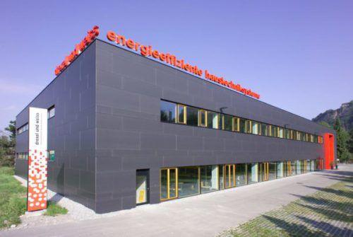 40 Mitarbeiter sind am Betriebssitz von Drexel und Weiss in Wolfurt beschäftigt. Fa