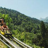 10 Jahre Waldseilpark, Flying-Fox und Alpine-Coaster-Golm