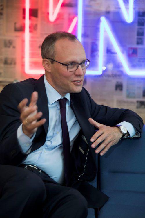 GF Stefan Fitz-Rankl: Zufrieden mit der neuen Studienplatzanzahl. VN/Paulitsch